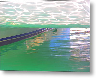 Metal Print featuring the photograph Reflections by Nareeta Martin