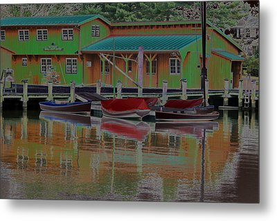 Reflections Of Color Metal Print by Carolyn Stagger Cokley
