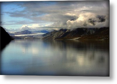 Reflections Of Stillness Metal Print by Karen Wiles