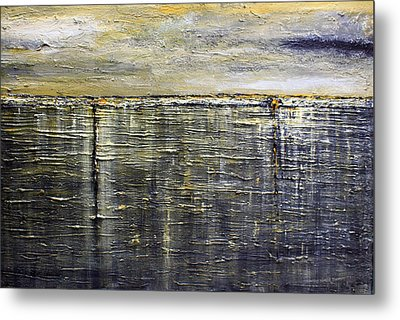 Reflections Of Yesterday Series  Metal Print by Dolores  Deal