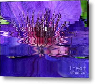 Reflets Metal Print by Sylvie Leandre