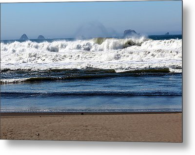 Metal Print featuring the photograph Refreshing by Jo Sheehan