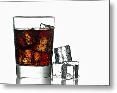 Refreshment Metal Print by Gert Lavsen