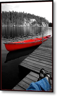 Metal Print featuring the photograph Relax by Brian Duram