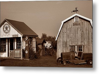 Relics Of The Past Iv Metal Print by Steven Ainsworth