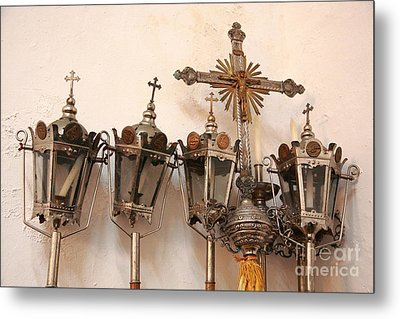 Religious Artifacts Metal Print by Gaspar Avila