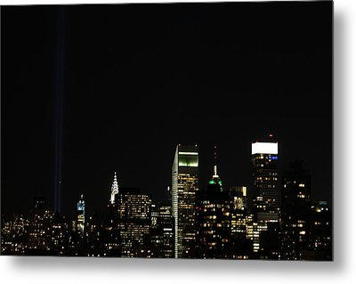 Remember September 11th Metal Print by Catie Canetti