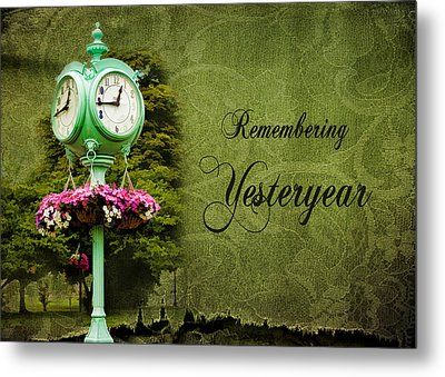 Remembering Yesteryear Metal Print by Trudy Wilkerson