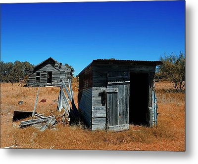 Metal Print featuring the photograph Remnants Of The Past by Renee Hardison