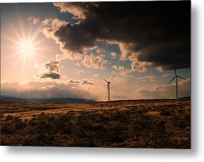 Renewable Energy Metal Print by Dan Mihai