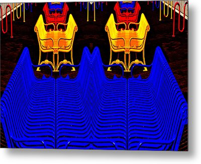 Metal Print featuring the photograph Repetition by Brian Duram