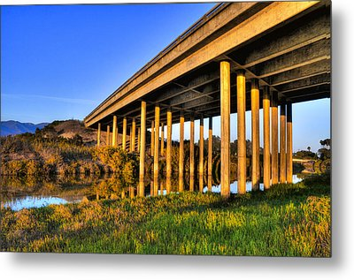 Metal Print featuring the photograph Repetition by Marta Cavazos-Hernandez