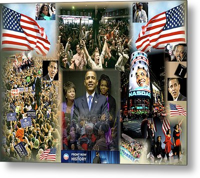 Respectfully Yours..... Mr. President 2 Metal Print by Terry Wallace