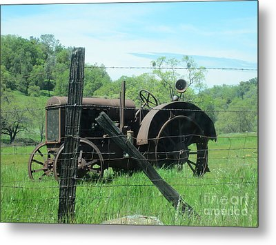 Retired Metal Print by Laurianna Taylor