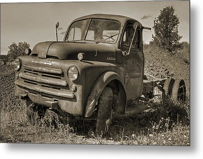 Retired Metal Print by Tyra  OBryant