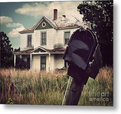 Return To Sender Metal Print by Jane Brack