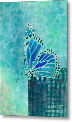 Reve De Papillon - S02a2 Metal Print by Variance Collections