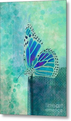 Reve De Papillon - S02b Metal Print by Variance Collections
