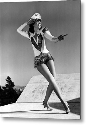 Reveille With Beverly, Ann Miller, 1943 Metal Print by Everett