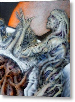 Revoke Metal Print by David Frantz