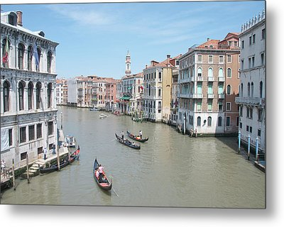 Rialto View Metal Print by A Goadby
