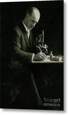 Richard C. Cabot, American Physician Metal Print by Science Source