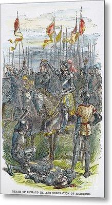 Richard IIi At Bosworth Metal Print by Granger