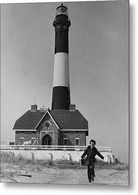 Richard Mahler, Is The Fire Island Metal Print