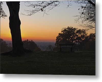 Richmond Sunset Metal Print