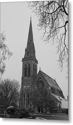 Metal Print featuring the photograph Richmond Village Church by Maj Seda