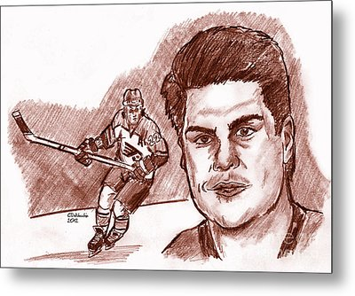 Rick Tocchet Metal Print by Chris  DelVecchio