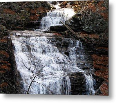 Ricketts Glen Waterfall 3900 Metal Print