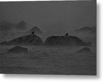 Riders On The Storm Metal Print by William Jobes
