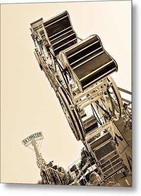 Riding High Metal Print by Mike Martin