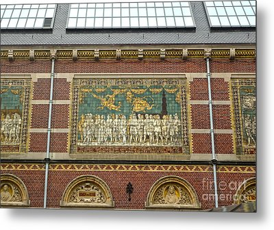 Rijksmuseum- 01 Metal Print by Gregory Dyer