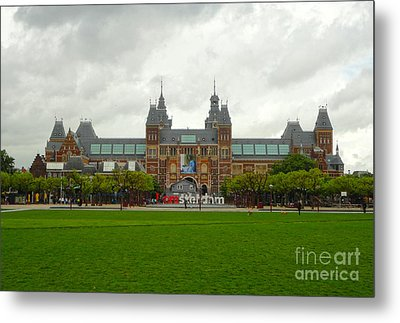 Rijksmuseum- 04 Metal Print by Gregory Dyer