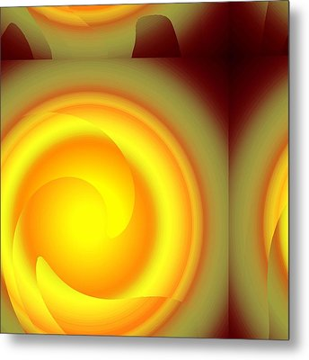 Rinds Metal Print by Yanni Theodorou