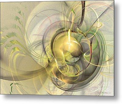 Rising - Abstract Art Metal Print