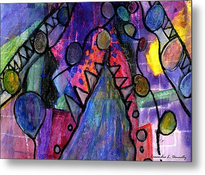 Rising From The Ashes Metal Print by Cassandra Donnelly