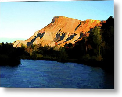 River Bend Metal Print by Brian Davis