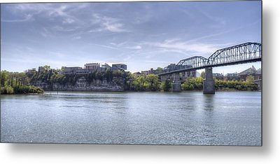 River Bluff Metal Print
