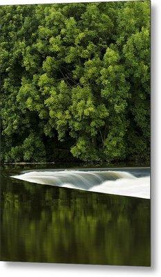 River Boyne, County Meath, Ireland Metal Print by Peter McCabe