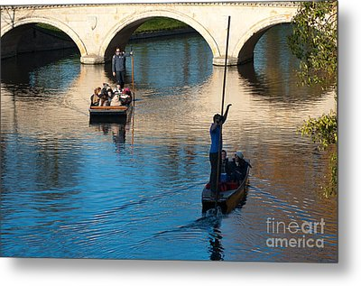 River Cam Traffic Metal Print by Andrew  Michael