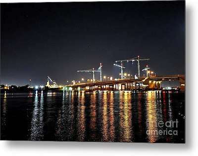 River City Metal Print by Eric Grissom