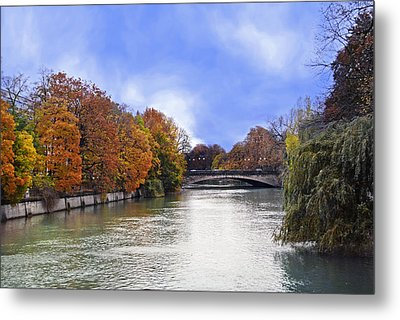 River Colors Metal Print by Anthony Citro