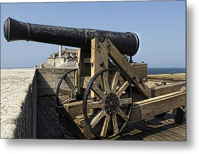 River Defense Metal Print by Peter Chilelli