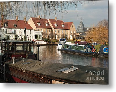 Metal Print featuring the photograph River Great Ouse by Andrew  Michael