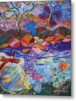 River Of Life Metal Print by Heather Hennick