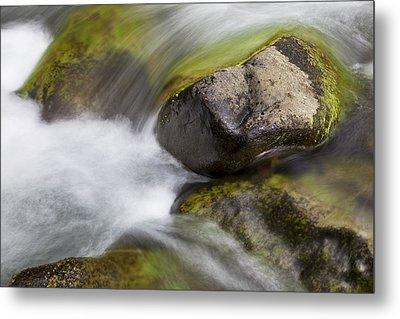 River Rocks II Metal Print by Jenna Szerlag
