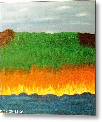 River Sambatyon Metal Print by Harris Gulko
